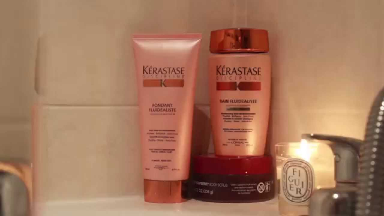 kerastase discipline shampoo fondant fluidealiste youtube. Black Bedroom Furniture Sets. Home Design Ideas