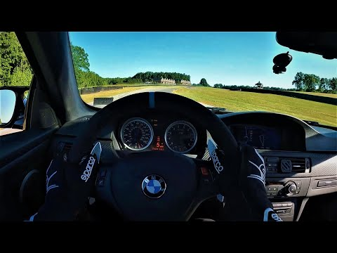 BMW E92 M3 Track Day Session at VIR