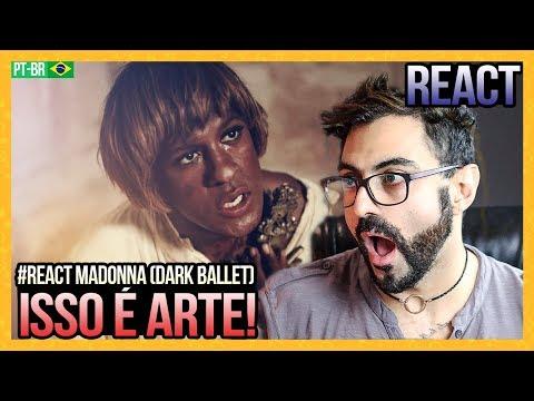 REAGINDO a Madonna - Dark Ballet