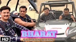 Salman Khan Jeep Riding In Abu Dhabi   Bharat Movie Shooting