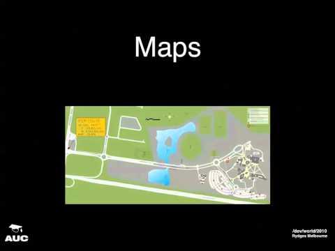 Campus Navigation using Custom Maps (/dev/world/2010)