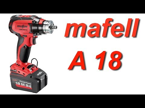 Мафель A18. Обзор и тест. Mafell A18. Review & test.
