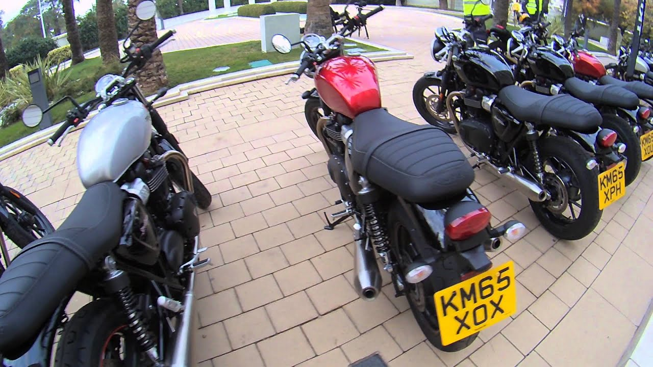 Review 2016 Triumph Bonneville Street Twin Test Ride Youtube