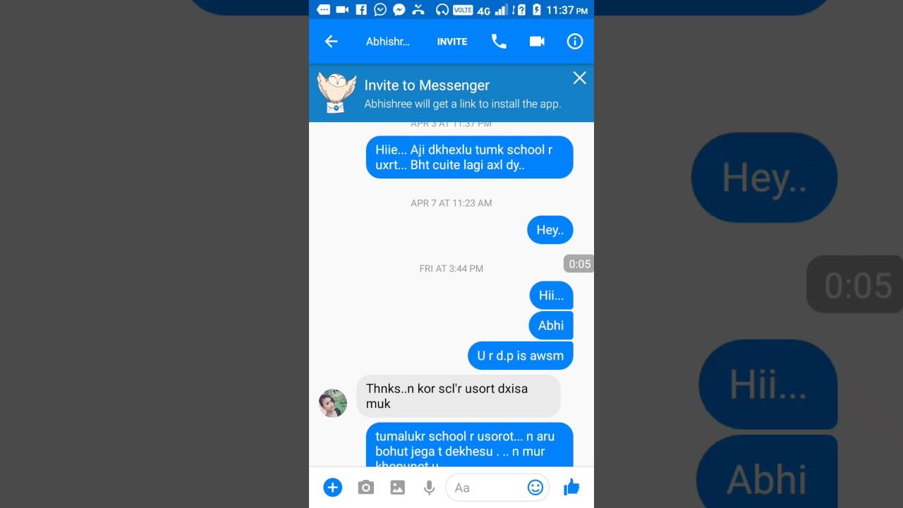 Facebook par ladki se baat karne ka tarika