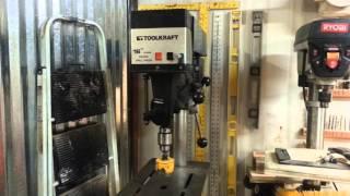 Floor Model Drill Press  Mounting Trick