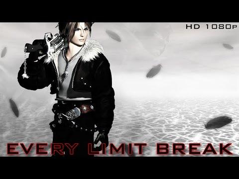 Every Limit Break in Final Fantasy VIII (HD 1080p)