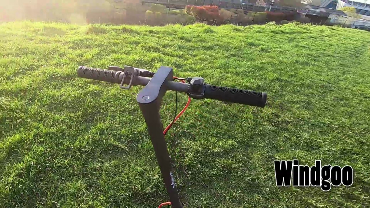 Electric Scooter Review Windgoo Onborads Youtube