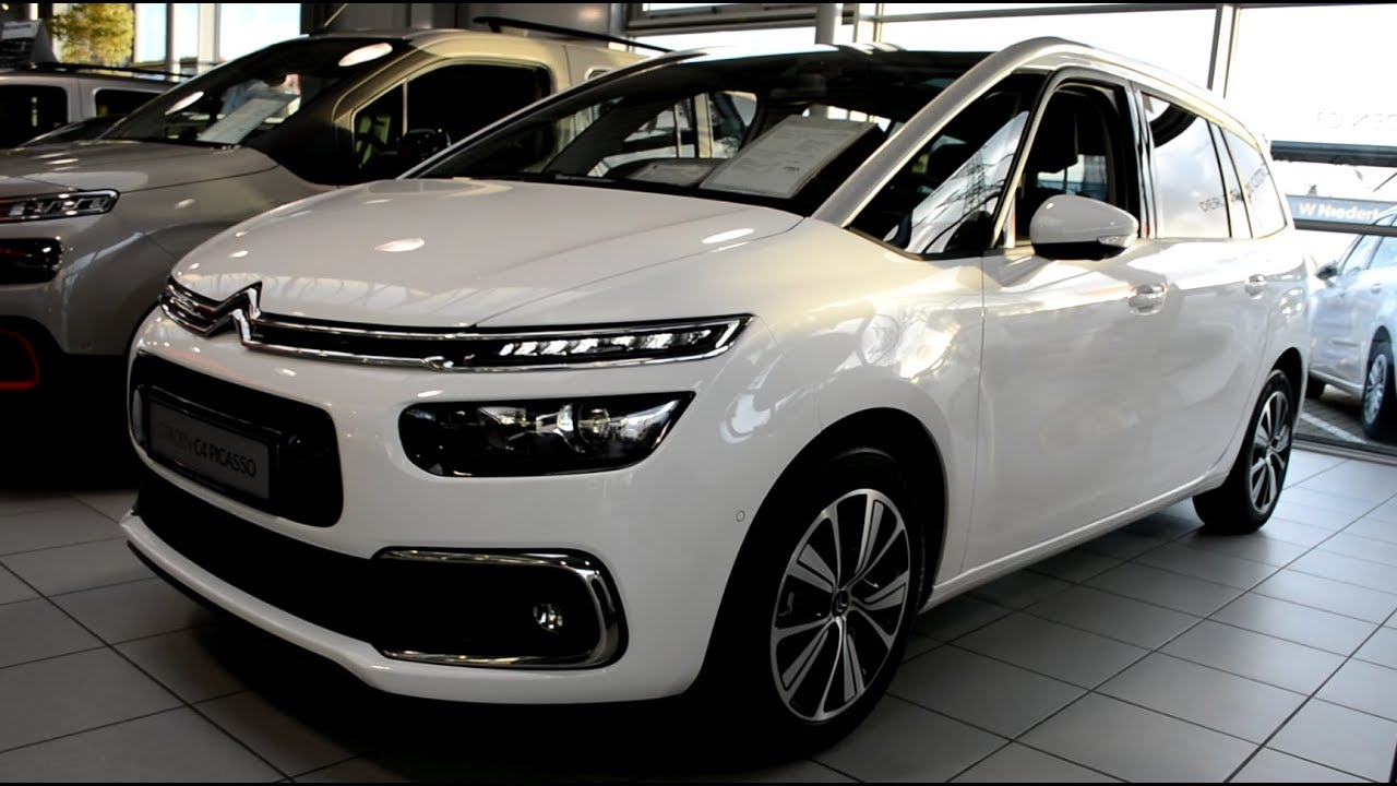 2019 new citroen c4 spacetourer exterior and interior. Black Bedroom Furniture Sets. Home Design Ideas