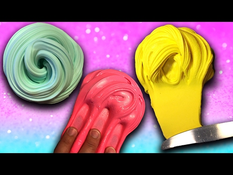 How To Make Diy Butter Slime 3 Ways 3 Diy Slime Recipes Youtube