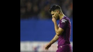 Man City consider legal action after Sergio Aguero claims of spitting by Wigan fan