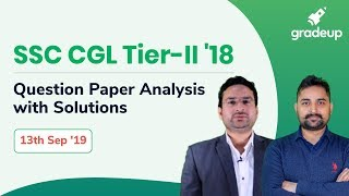 SSC CGL Tier-II English & Maths Questions Discussion, LIVE Session @ 6:30 PM