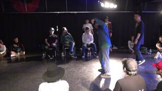 2017 4/8 POPPIN' 1ON1 BATTLE Osaka japan DJ Satoci @Space A-sh 【BL...