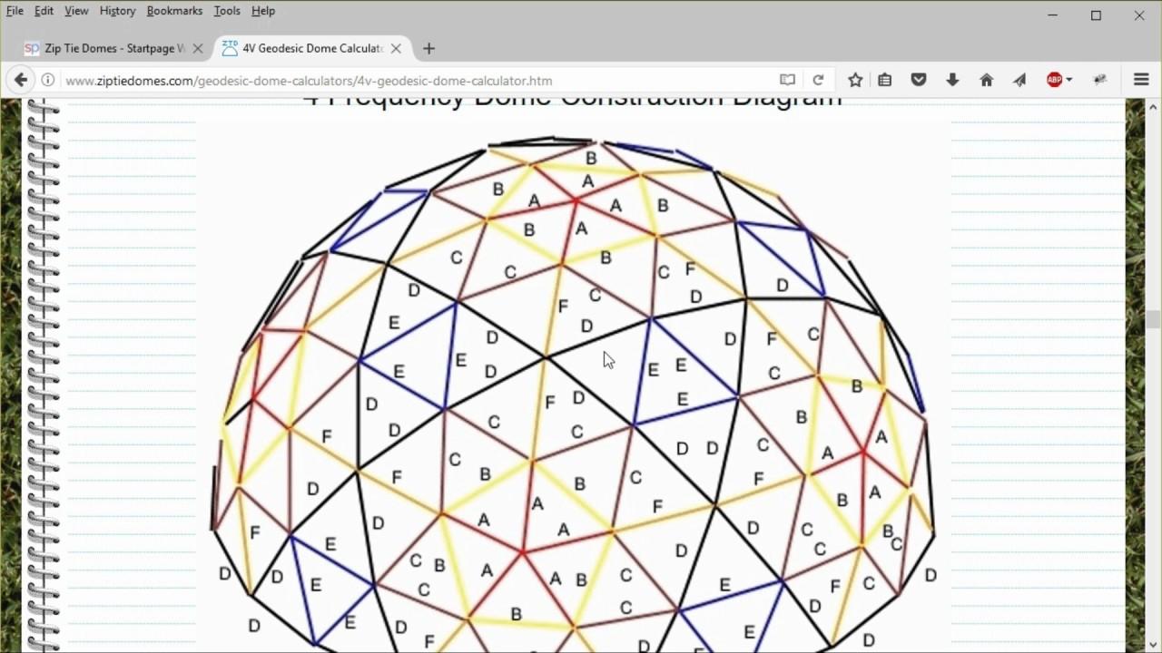 Geodesic Dome Calculator Free