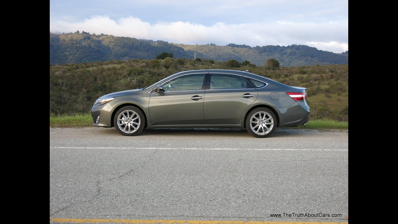 2013 Toyota Avalon Review and Road Test with infotainment review