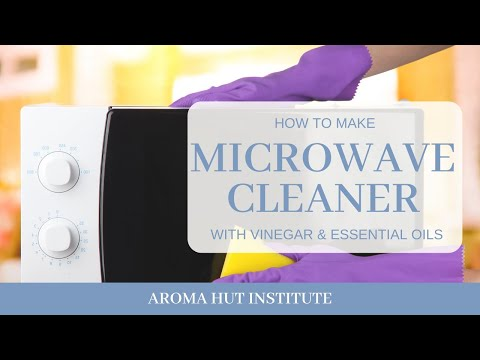 How To Clean Microwave Oven - with Vinegar and Baking Soda