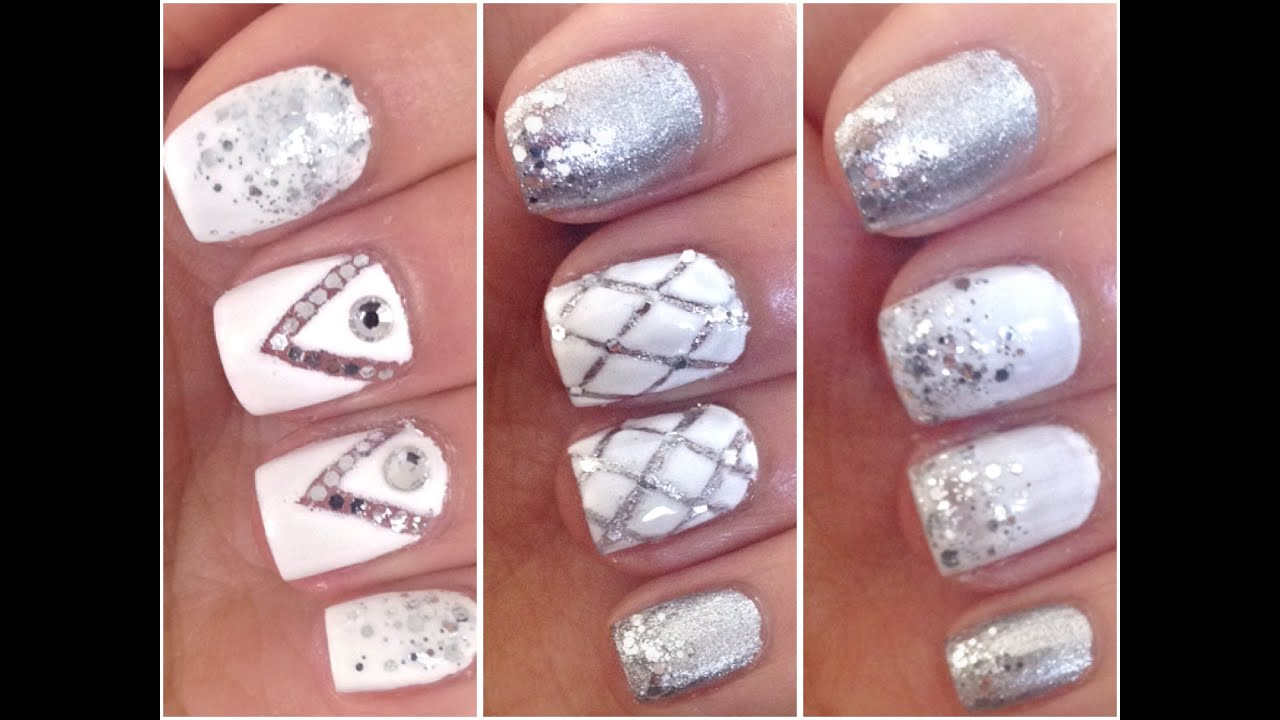 3 easy prom nail art designs youtube 3 easy prom nail art designs prinsesfo Gallery