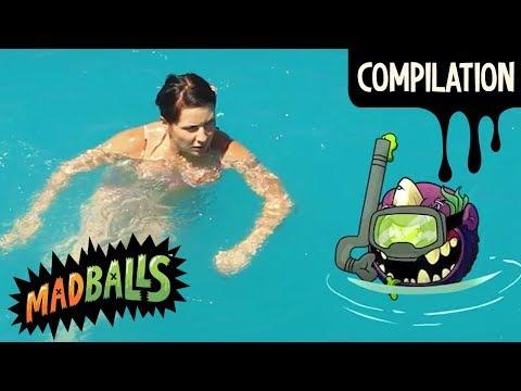 MADBALLS Cartoons ⚫ COMPILATION: Madballs Vs. Sports