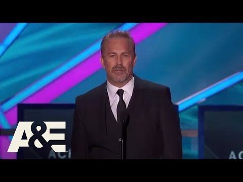 Kevin Costner Wins Lifetime Achievement Award  2015 Critics' Choice Movie Awards  A&E