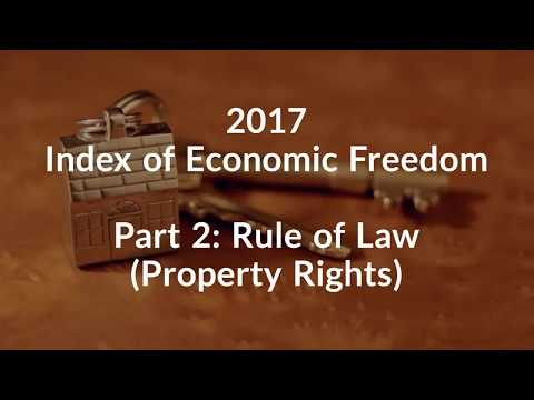 2017 Index of Economic Freedom_ Part 2: Property Rights