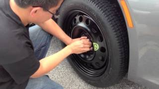 bimmerzone com bmw e63 e64 6 series 645i 650i spare tire kit installation test