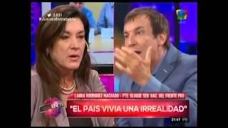 Intratables: Del Moro echó a Brancatelli en vivo