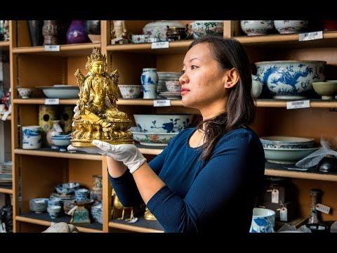 Hidden Treasures Inside A Gilt-Bronze Bodhisattva | Christie's