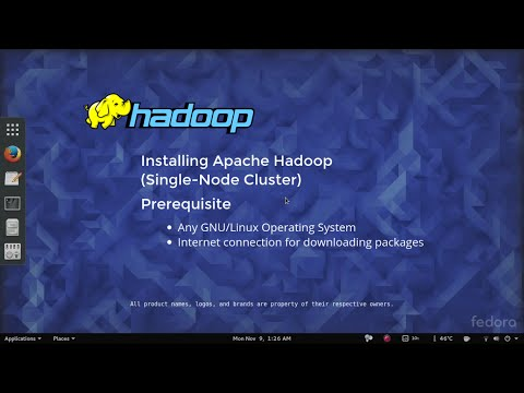 How to Install Hadoop (quick & easy, under 13 minutes, 6 steps).