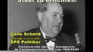 Carlo Schmid - Das Grundgesetz