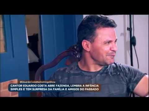 Geraldo Luís mostra a fazenda de Eduardo Costa no Domingo Show