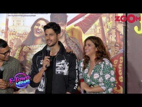 Sidharth Malhotra and Parineeti Chopra in candid mood at the trailer launch of Jabariya Jodi Mp3
