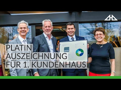 Modern Eco House Homes By HUF HAUS - DGNB Platinum Award