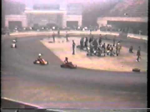 Veterans Auditorium 1986 Coke Syrup Racing Part 1