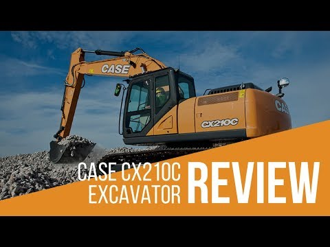 Case CX210C Excavator Review & Full Specs | iSeekplant