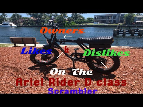Owners review ! Likes and dislikes about the Ariel Rider D Class scrambler Ebike (dual motor)!