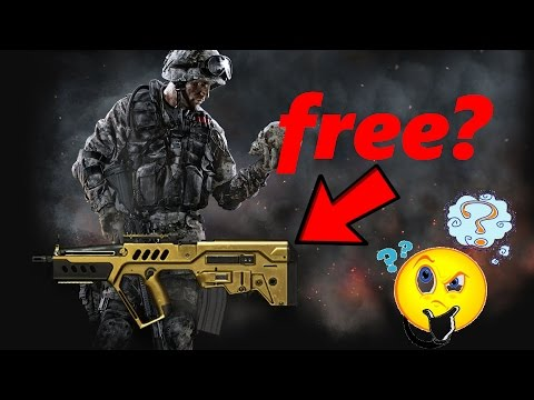 Warface: Free Kredits, Gold Weapons? [Scam Websites]