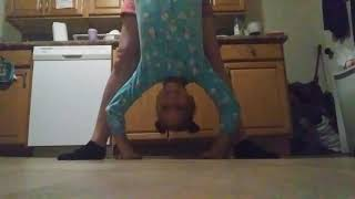 Causing Ruckus funny kids channel my legs are huge gymnastics I'm so proud of you