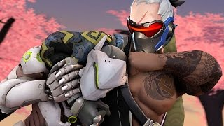 Soldier 76 and Genji Play Overwatch Together