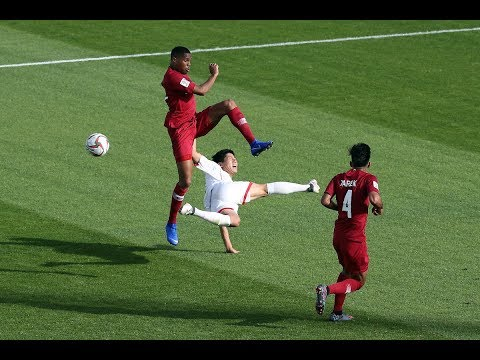 Highlights: DPR Korea 0-6 Qatar (AFC Asian Cup UAE 2019  Group Stage)