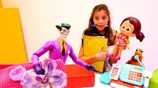 Видео для девочек с Джокером - приключение в магазине