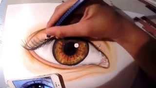 Eye drawing    Malin Arts