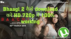How to download bhagi 2 movies 700mb torrent|| by tech forever