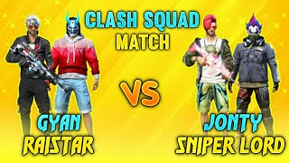 GYAN BHAI AND RAISTAR VS JONTY AND SNIPER LORD - BEST FRIENDLY CUSTOM MATCH - #JONTYGAMING