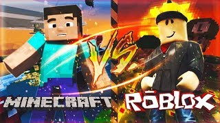 MINECRAFT VS ROBLOX l Rap Battle MD