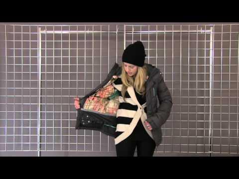 cc5aa866fc9 Volcom Women's Powder Puff Down Jacket 2014-2015 - YouTube