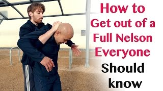How to get out of a Full Nelson everyone should know | Wing Chun