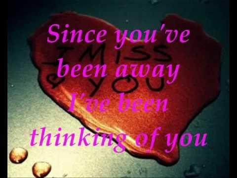 Missing You W Lyrics - YouTube