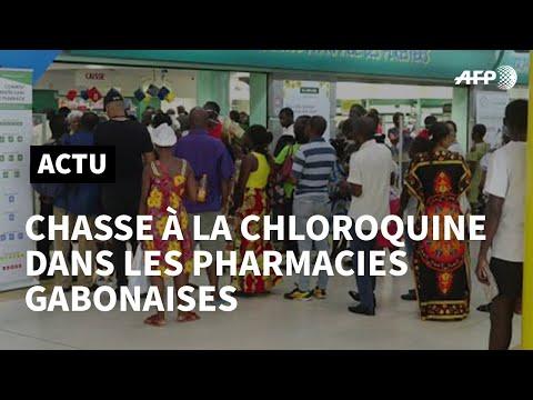 Covid-19 au Gabon: chasse à la chloroquine dans les pharmacies | AFP