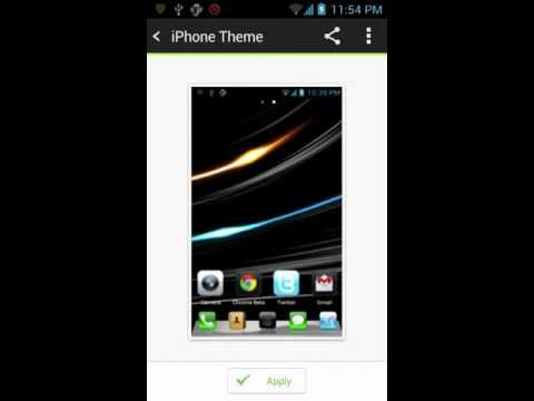 IPhone 5 Go Launcher Theme Download