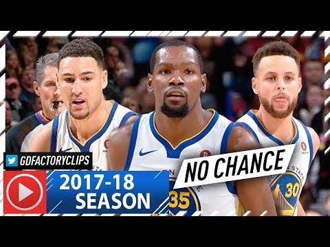Stephen Curry, Klay Thompson & Draymond Green BIG 3 Highlights vs Cavaliers (2018.01.15) - STRONG!