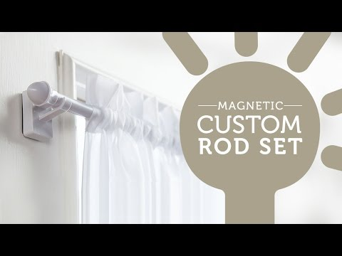 How to Easily Hang Curtains on Metal Doors and Windows